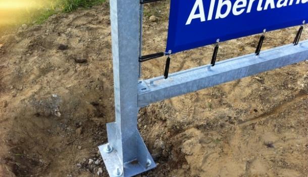Stevig verankert in het beton