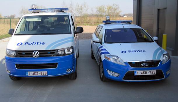 Belettering politievoertuigen zone Deinze/Zulte